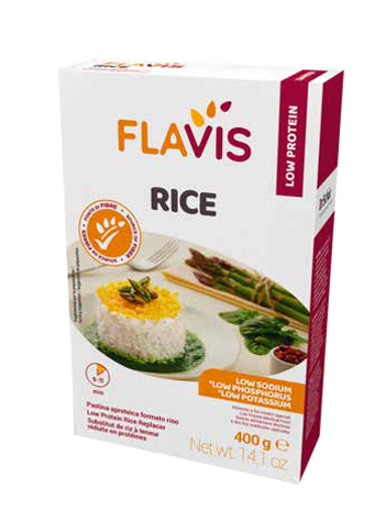MEVALIA FLAVIS RICE 400 G - Farmafamily.it