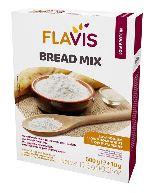 MEVALIA FLAVIS BREAD MIX 500 G - Farmacia Bartoli