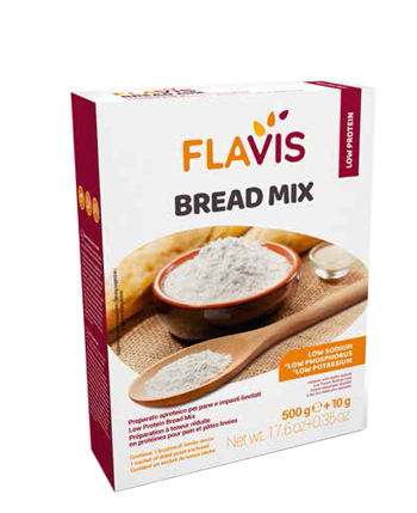 MEVALIA FLAVIS BREAD MIX 500 G - Farmabros.it