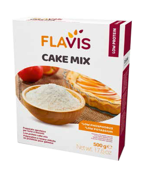 MEVALIA FLAVIS CAKE MIX 500 G - Arcafarma.it