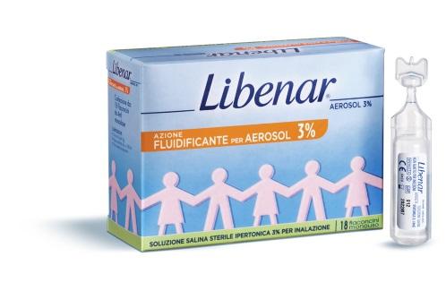 LIBENAR 18 FIALE AEROSOL IPERTONICHE 3% - farmaciafalquigolfoparadiso.it