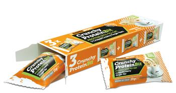 CRUNCHY PROTEIN BIT CAPPUCCINO 3 X 15 G - Farmaci.me