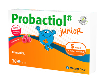 PROBACTIOL JUNIOR 30 COMPRESSE MASTICABILI NEW - DrStebe