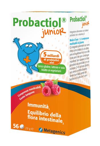 PROBACTIOL JUNIOR 60 COMPRESSE MASTICABILI NEW - Farmapc.it
