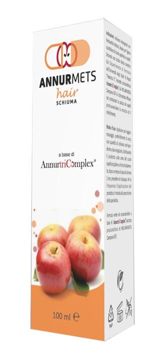 ANNURMETS HAIR SCHIUMA 100 ML - Farmaseller
