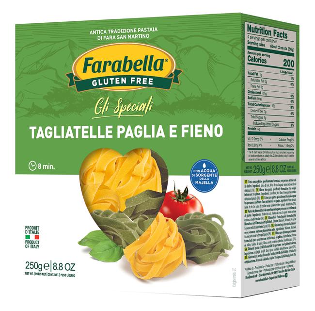 Farabella Tagliatella Paglia Fieno 250g - Arcafarma.it