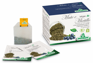 INFUSO BIO MATE/MIRTILLO 36 G