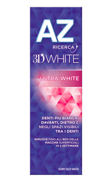 DENTIFRICIO ORAL B AZ 3D ULTRAWHITE 65 + 10 ML - Farmapc.it