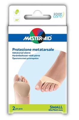 PROTEZIONE MASTER-AID PER METATARSO IN TESSUTO ELASTICO E GEL S 1 PAIO - Farmajoy