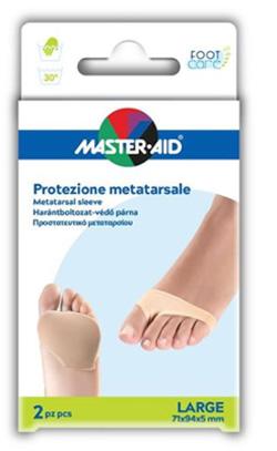 PROTEZIONE MASTER-AID PER METATARSO IN TESSUTO ELASTICO E GEL L 1 PAIO - Farmacia 33