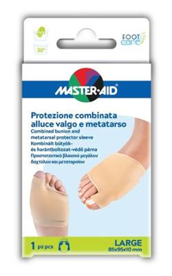 PROTEZIONE MASTER-AID PER ALLUCE VALGO E METATARSO L 1 PEZZO - Farmacia 33