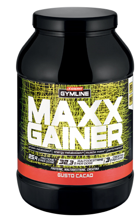 GYMLINE MAXX GAINER CACAO 1,5 KG - Farmapage.it
