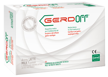 GERDOFF GUSTO LATTE 20 COMPRESSE - Farmapage.it