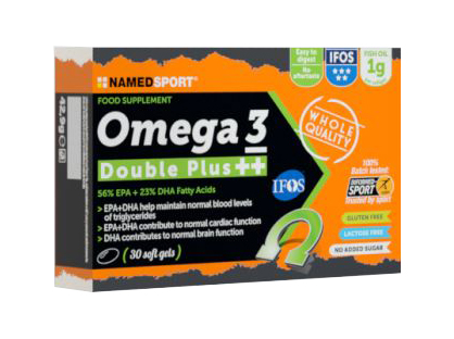 OMEGA 3 DOUBLE PLUS++ 30 SOFT GEL - Farmacia Bartoli