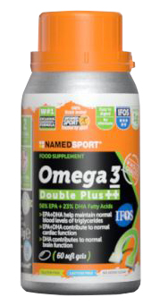 OMEGA 3 DOUBLE PLUS++ 60 SOFT GEL - Farmacia Bartoli