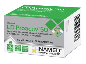 DISBIOLINE LD PROACTIV 50 20 COMPRESSE - FarmaHub.it