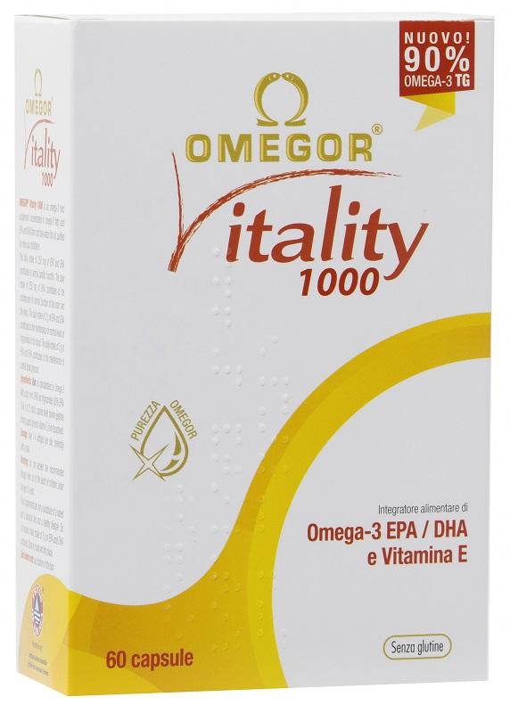 OMEGOR VITALITY 1000 60 CAPSULE MOLLI - Farmaunclick.it