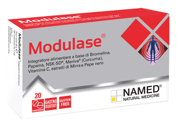 MODULASE 20 COMPRESSE GASTRORESISTENTI - FarmaHub.it