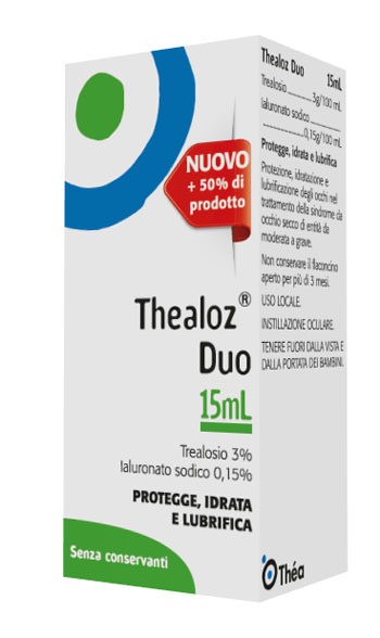 THEALOZ DUO 15 SOLUZIONE OFTALMICA 15 ML - Farmastar.it