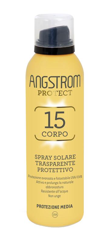 ANGSTROM PROTECT 15 CORPO SPRAY SOLARE TRASPARENTE 150 ML - FARMAEMPORIO