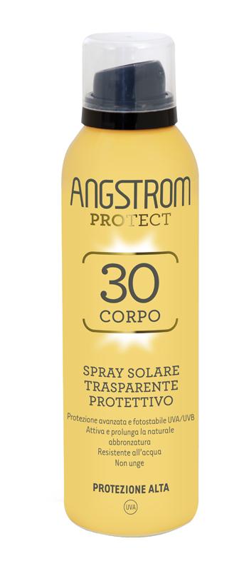 ANGSTROM PROTECT 30 CORPO SPRAY SOLARE TRASPARENTE 150 ML - FARMAEMPORIO