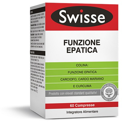 SWISSE FUNZIONE EPATICA 60 COMPRESSE - Spacefarma.it