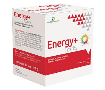 ENERGY+ RICARICA 20 BUSTINE - Farmabros.it