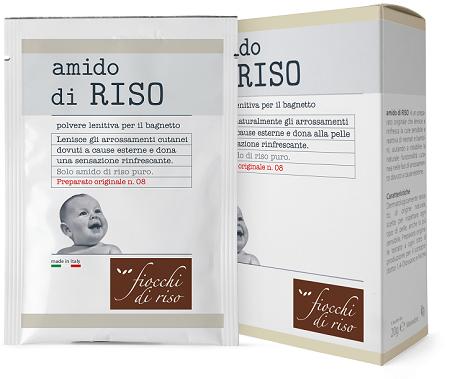 FIOCCHI DI RISO AMIDO DI RISO POLVERE LENITIVO 100 G - Farmacento