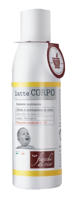 FIOCCHI DI RISO LATTE CORPO NUTRIENTE 140 ML - Farmastar.it