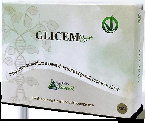 GLICEM BEN 60 COMPRESSE - Farmacia Centrale Dr. Monteleone Adriano