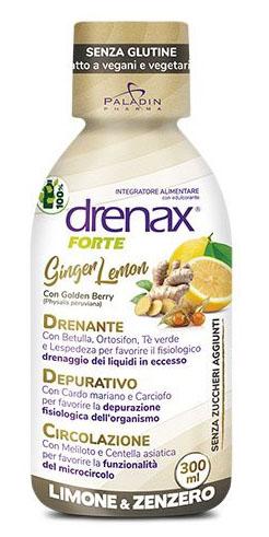 DRENAX FORTE GINGER LEMON 300 ML - Farmacia Bartoli