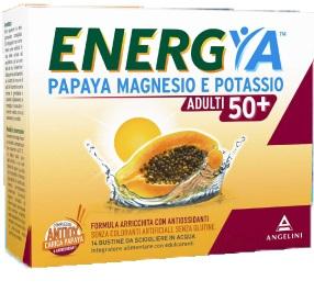 ENERGYA PAPAYA MAGNESIO POTASSIO 50+ 14 BUSTINE - latuafarmaciaonline.it