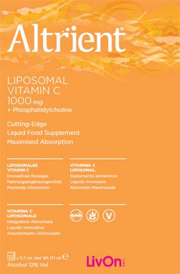 ALTRIENT LIPOSOMAL VITAMIN C 30 BUSTE - Farmalke.it