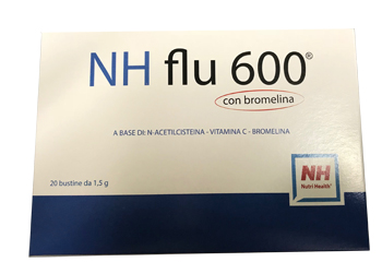 NH FLU 600 CON BROMELINA 20 BUSTE - Farmafamily.it