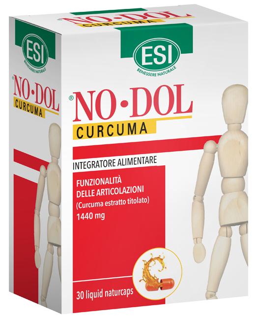NODOL CURCUMA 30 NATURCAPS LIQUID - Farmaci.me