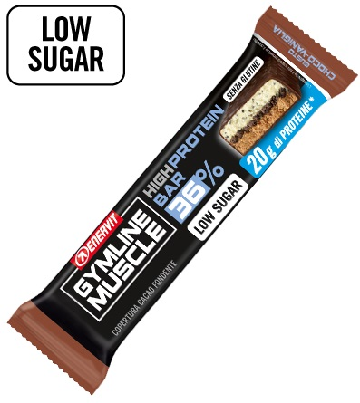 GYMLINE 20 G PROTEINBAR CHOCO/VANIGLIA 55 G - Farmafamily.it