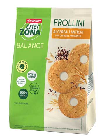 ENERZONA FROLLINI VEG CEREALI ANTICHI 250 G - Farmaedo.it