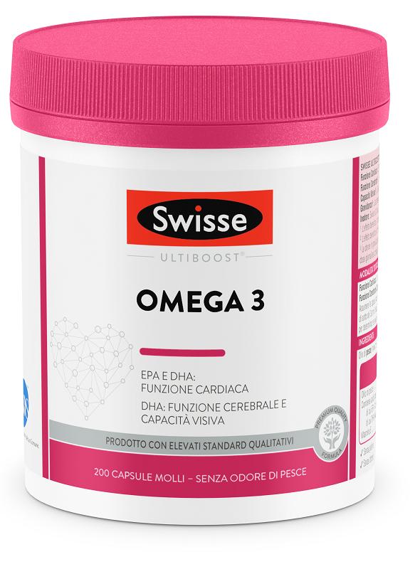 SWISSE OMEGA 3 1500 MG 200 CAPSULE - Farmaci.me