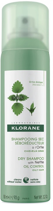 KLORANE SHAMPOO SECCO SEBORIDUTTORE ALL'ORTICA 150 ML - Farmalke.it