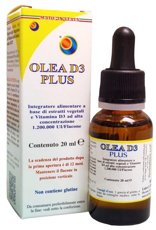 OLEA D3 PLUS GOCCE 20 ML - La farmacia digitale