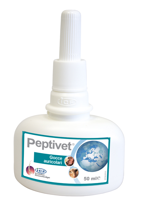 PEPTIVET GOCCE AURICOLARI 50 ML - Farmastar.it