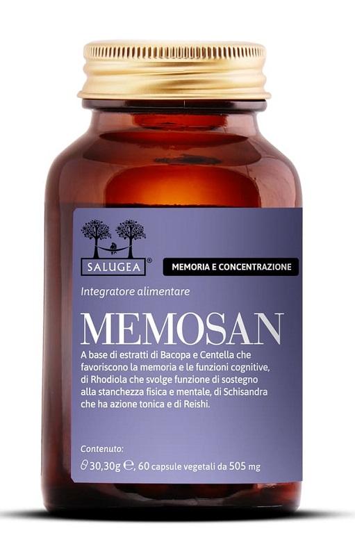 SALUGEA MEMOSAN 60 CAPSULE - Farmacia Centrale Dr. Monteleone Adriano