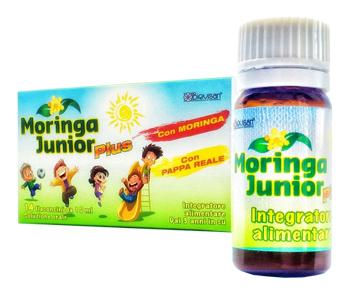 MORINGA JUNIOR PLUS 10 FLACONCINI DA 10 ML - Farmacia Centrale Dr. Monteleone Adriano