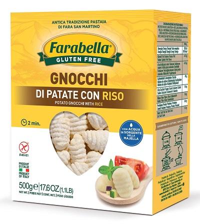 FARABELLA GNOCCHI PATATE RISO 500 G - Farmaseller
