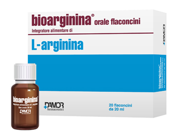 BIOARGININA ORALE 20 FLACONCINI 20 ML - Farmafamily.it