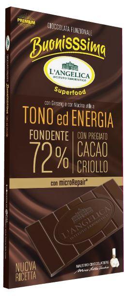 L'ANGELICA TAVOLETTA FUNZIONALE TONO ENERGIA 80 G - Farmafamily.it