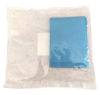 TELO STERILE STANDARD MONOUSO IN TNT IMPERMEABILE PLASTIFICATO 45 CM X 75 CM 1 PEZZO - Zfarmacia