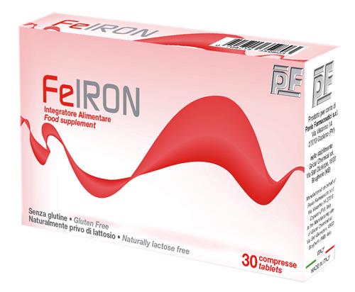 FEIRON 30 COMPRESSE 770MG 2 BLISTER DA 15 COMPRESSE - Parafarmacia Tranchina