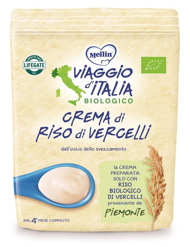 MELLIN VIAGGIO ITALIA CREMA RISO VERCELLI 200 G - Farmacia Bartoli