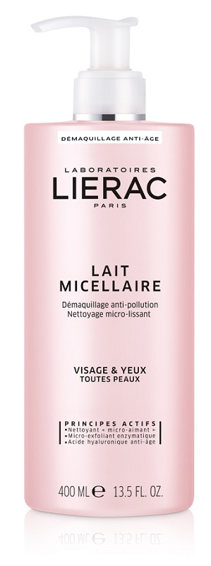 LIERAC LATTE MICELLARE 400 ML - Nowfarma.it